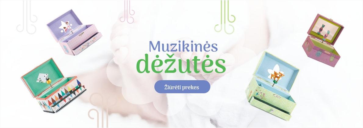 muzikines dezutes