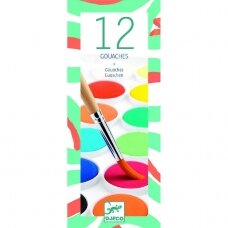 Akvarelė 12 spalvų