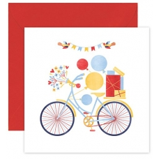 """Atvirukas """"Šventinis dviratis"""""""