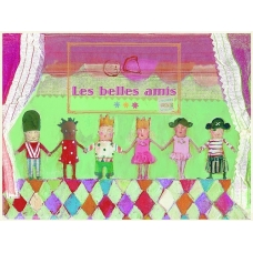 "Atvirutė ""Les Belles Amis"""