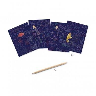 """Nutrinamų kortelių rinkinys """"Nuostabi gamta"""" 4"""