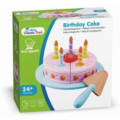 Braškinis gimtadienio tortas 4