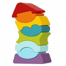 """Cubika kaladėlių rinkinys """"Lankstusis bokštas 8"""""""