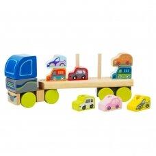 Cubika sunkvežimis su mašinytėmis