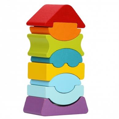 """Cubika kaladėlių rinkinys """"Lankstusis bokštas 8"""" 2"""