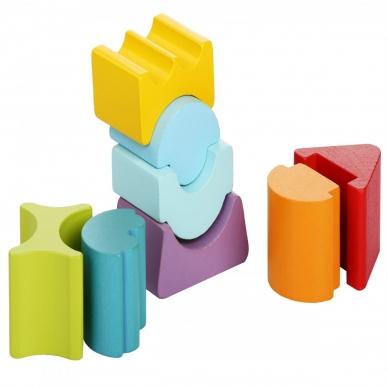 """Cubika kaladėlių rinkinys """"Lankstusis bokštas 8"""" 4"""