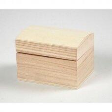 Dekoruojama medinė skrynelė