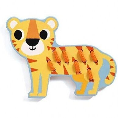 """Djeco varstymo žaislas """"Džiunglės"""" 3"""