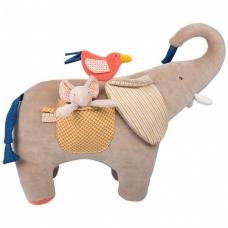 Didelis žaidimų dramblys, 38 cm