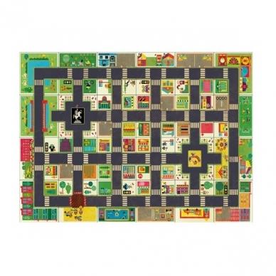 """Didelė dėlionė - kilimas """"Miestas"""", 24 dalys 6"""
