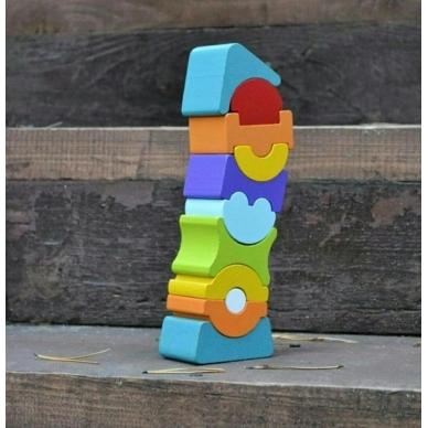 Cubika didelis balansinis bokštas 5