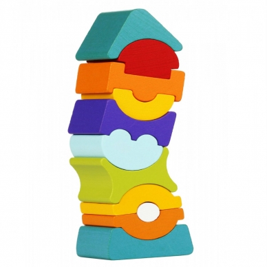 Cubika didelis balansinis bokštas