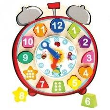 Edukacinė dėlionė-laikrodis