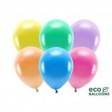 "Ekologiškų balionų rinkinys ""Metalik spalvoti"", 26 cm, 10vnt"