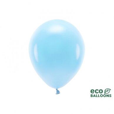 "Ekologiški balionai ""Pasteliniai melsvi"", 10vnt"