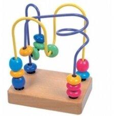 Ergoterapinis žaislas Du labirintai, 18 mėn.+