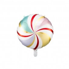 "Folinis balionas ""Saldainis"" margas, 35cm"