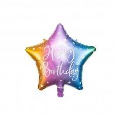"Folinis balionas ""Happy Birthday"" 40cm"