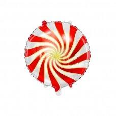 """Folinis balionas """"Saldainis"""" raudonas, 35cm"""