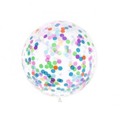 """Didelis balionas """"Spalvotas konfeti"""""""