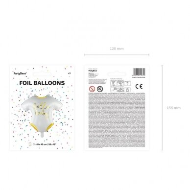 "Folinis balionas  ""Hello baby"" 2"