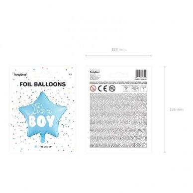 "Folinis balionas ""It's a Boy"" 4"