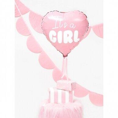 "Folinis balionas ""It's a Girl"" 2"