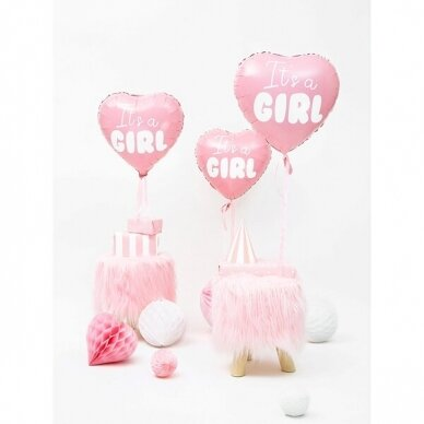 "Folinis balionas ""It's a Girl"" 3"