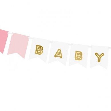 """Girlianda marga """"Baby girl"""" 2"""