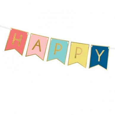 "Girlianda marga ""Happy Birthday"" 2"