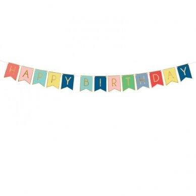 "Girlianda marga ""Happy Birthday"""
