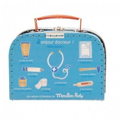 Gydytojo rinkinys lagaminėlyje 4