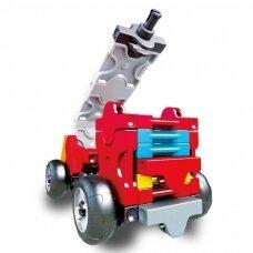 "Konstruktorių rinkinys LaQ ""Hamacron Constructor Mini Fire Truck"""