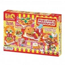 """Konstruktorių rinkinys LaQ """"Sweet Collection My Little Restaurant"""""""