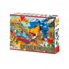 """Konstruktorius LaQ """"Dinozaurų karalystė"""""""