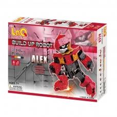 """Konstruktorius LaQ robotas """"Alex"""""""
