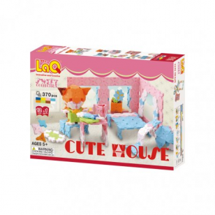 "Konstruktorius LaQ Sweet Collection ""Cute House"""