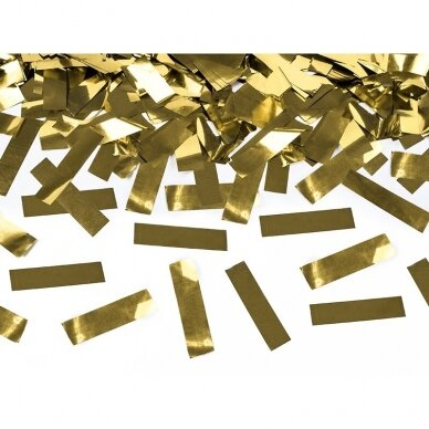 """Konfeti patranka """"Auksinės juostelės"""" 40cm  3"""