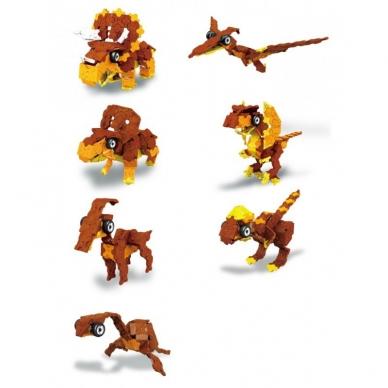 """Konstruktorius LaQ """"Dinosaur World """"Triceratops & Pteranodon"""" 5"""