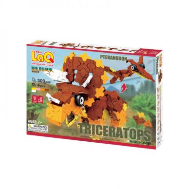 """Konstruktorius LaQ """"Dinosaur World """"Triceratops & Pteranodon"""""""
