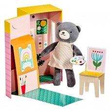 """Minkštas žaislas su nameliu """"Dailininkė Beatričė"""""""