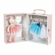 """Lagaminėlis - drabužių spinta """"Pelytė balerina"""""""