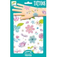"""Laikinosios tatuiruotės vaikams """"Gėlės"""""""