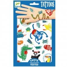 """Laikinosios tatuiruotės vaikams """"Gyvūnai"""""""