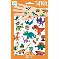 """Laikinosios tatuiruotės vaikams """"Dinozaurai"""""""