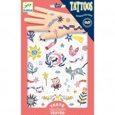 """Laikinosios tatuiruotės vaikams """"Saldžios svajonės"""""""