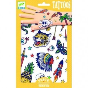 """Laikinosios tatuiruotės vaikams """"Indėnai ir kaubojai"""""""