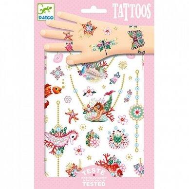 """Laikinosios tatuiruotės vaikams """"Papuošalai"""""""