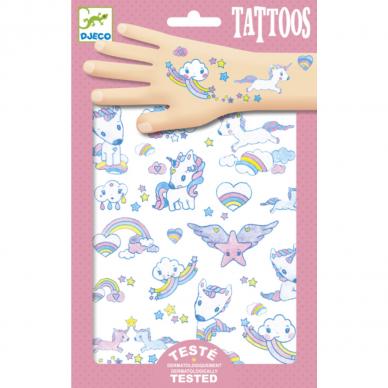 """Laikinosios tatuiruotės vaikams """"Vienaragiai"""""""