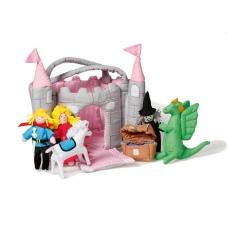 Lėlių namas - medžiaginė pilis